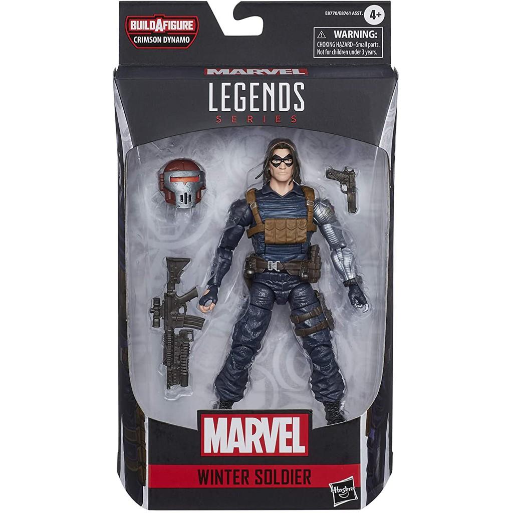 【HASBRO孩之寶】Marvel legends 酷寒戰士 6吋 可動 公仔 漫威傳奇 winter soldier