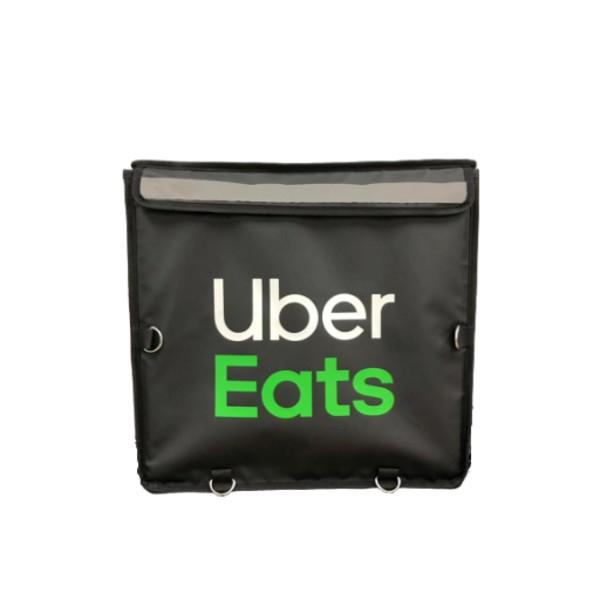 (請先看內文)現貨全新-1600元/個UberEats保溫袋四代大包上掀式 官方保溫袋 黑色白字綠字 原廠保溫袋/包