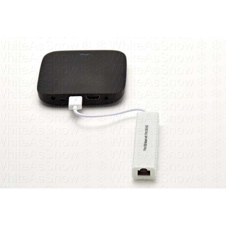 [現貨] USB 轉 RJ45 100M 網卡加3孔USB HUB 小米盒子 s 國際版 台灣版 3S 4