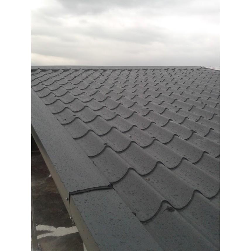 屋頂新建盛餘鋁鋅發泡單層鋼板琉璃鋼瓦