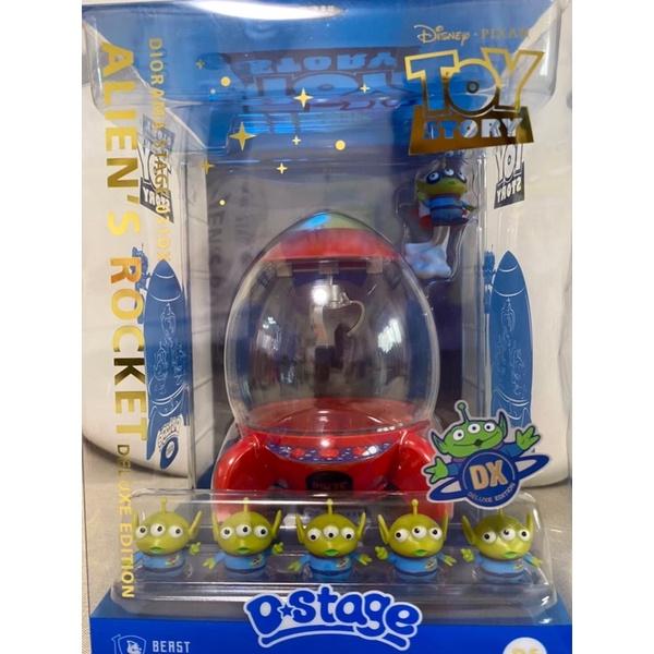 Disney迪士尼玩具總動員 三眼怪火箭豪華版
