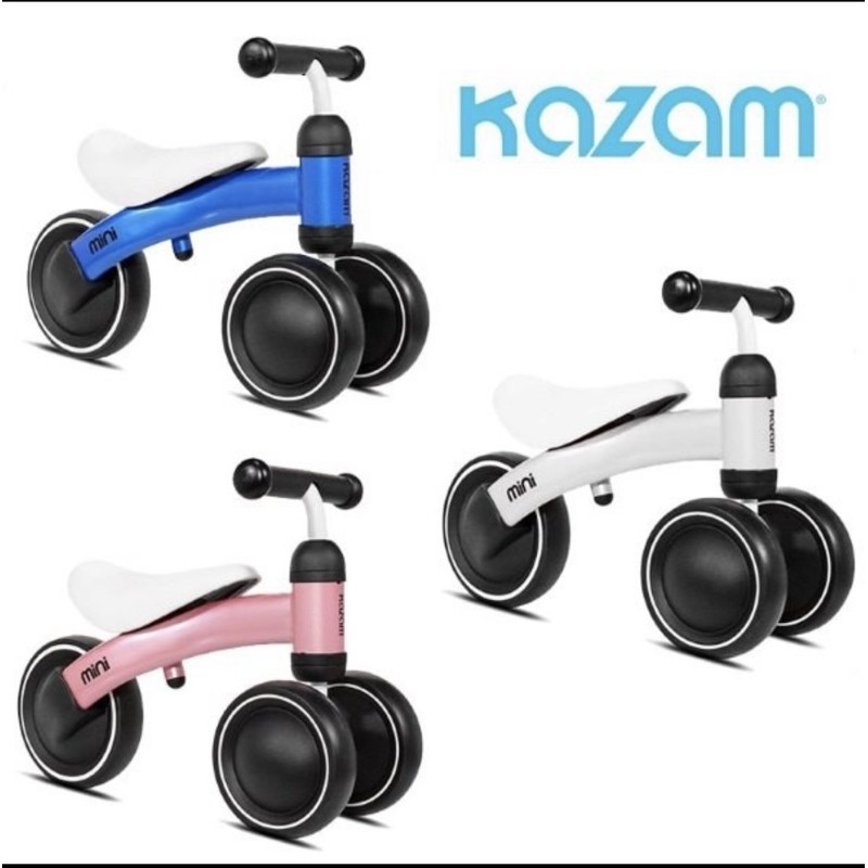 二手美國Kazam mini寶寶滑步車 -白色