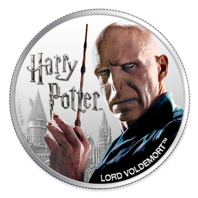 預購 - 2020斐濟-魔法世界系列-佛地魔-1盎司銀幣