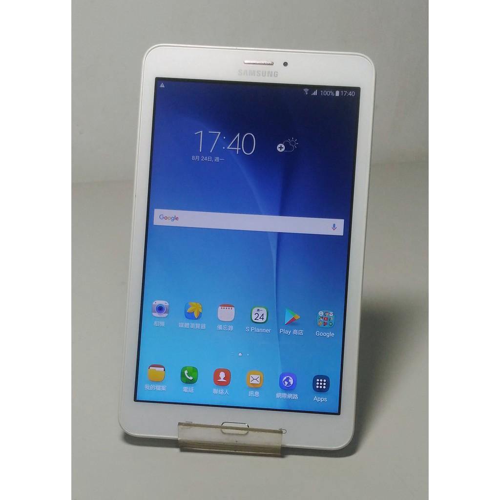 SAMSUNG三星Tab E 8.0 sm-t3777/LTE 4G+wifi/8吋可通話平板/1.5G/16G/外觀優