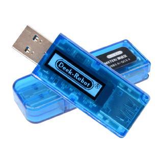 USB3.0充電器Dr電壓電流表測試儀電池容量功率檢測器