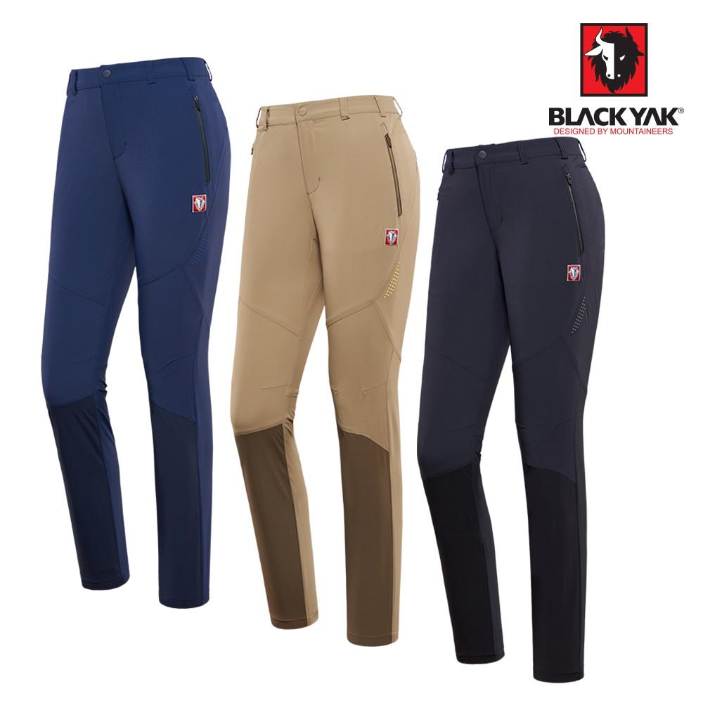 【BLACKYAK】女CORDURA耐磨透氣長褲[藍紫色/卡其色/深灰色]耐磨透氣長褲 | BY181WP206