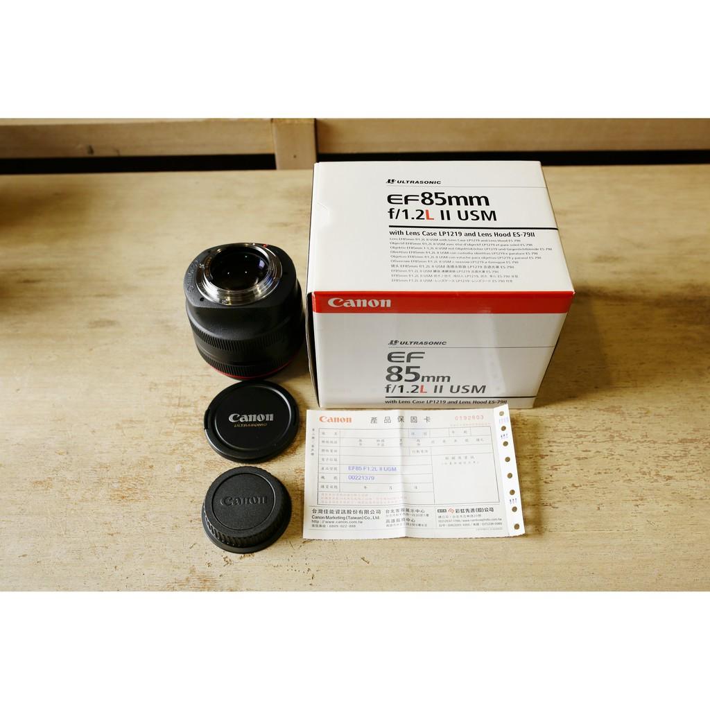 二手 Canon 85mm1.2L II