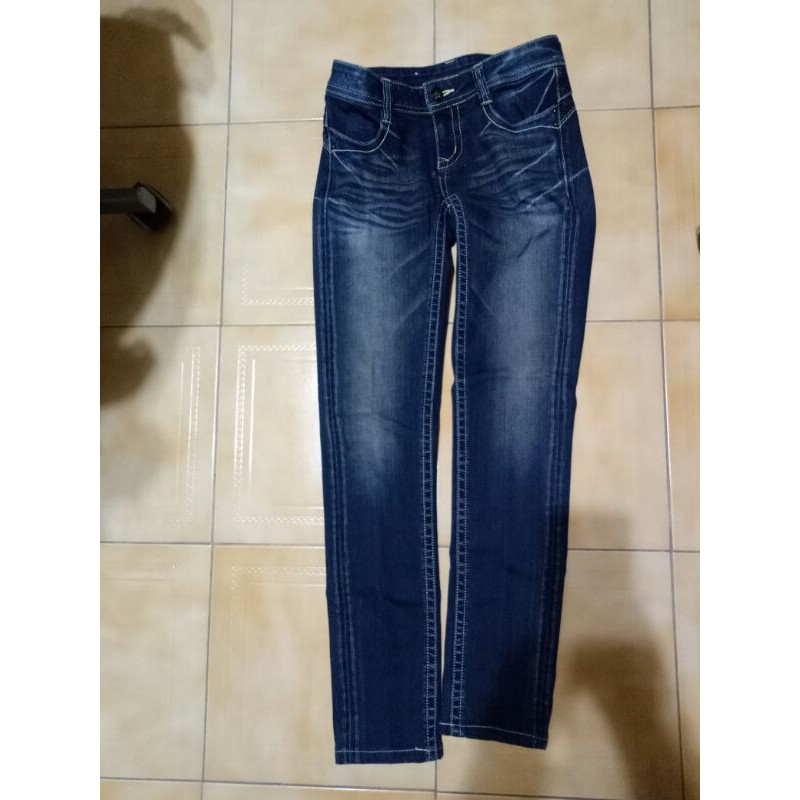 BIG TRAIN Victoria jeans 牛仔褲S 二手