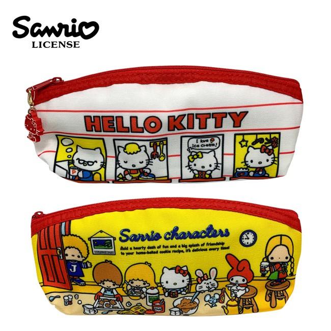 含稅 三麗鷗 扁筆袋 鉛筆盒 筆袋 長型筆袋 凱蒂貓 Hello Kitty 雙子星 美樂蒂 Sanrio 日本正版