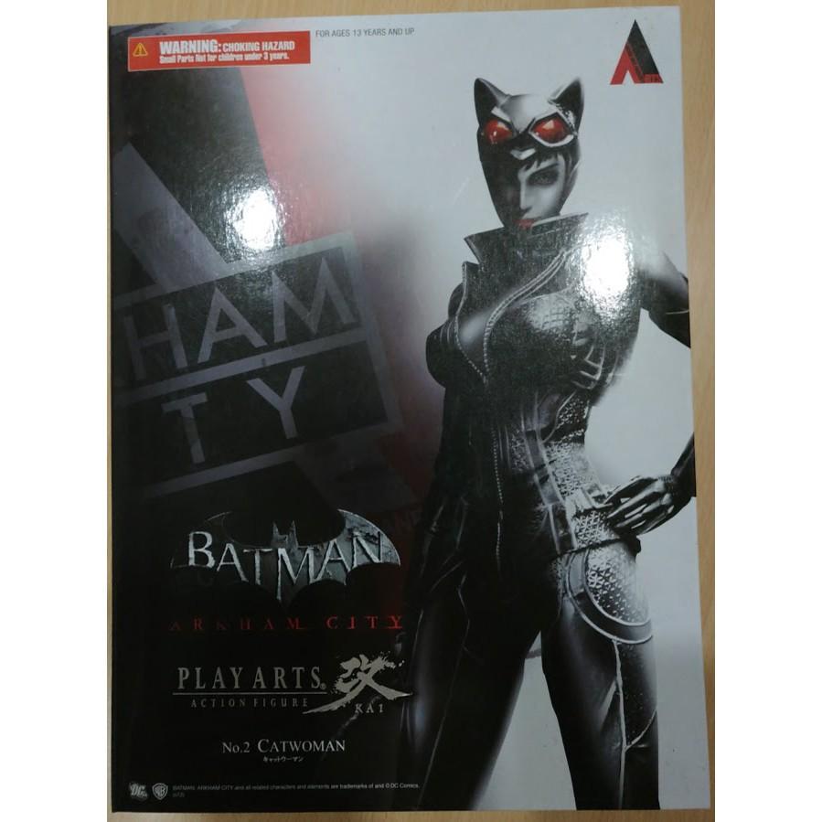 全新 Play Arts 改 DC Poison Ivy 阿卡漢城市 貓女 蝙蝠俠 BATMAN 電影