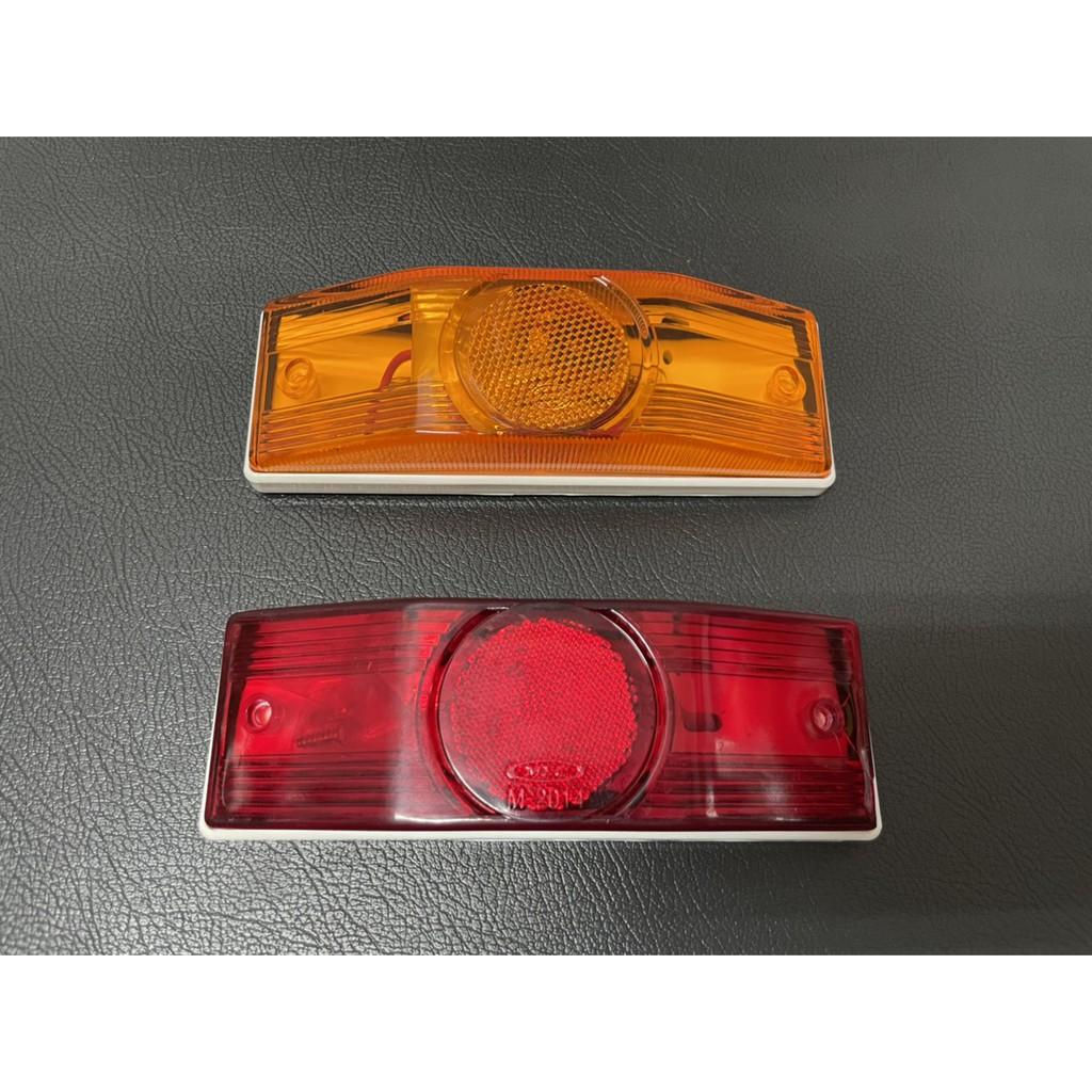 Ko Ma *雙層燈泡式邊燈 邊燈 側燈 側邊燈 大燈 後燈 角燈 方向燈 屋頂燈 標識燈 遊覽車 巴士 公車 貨車