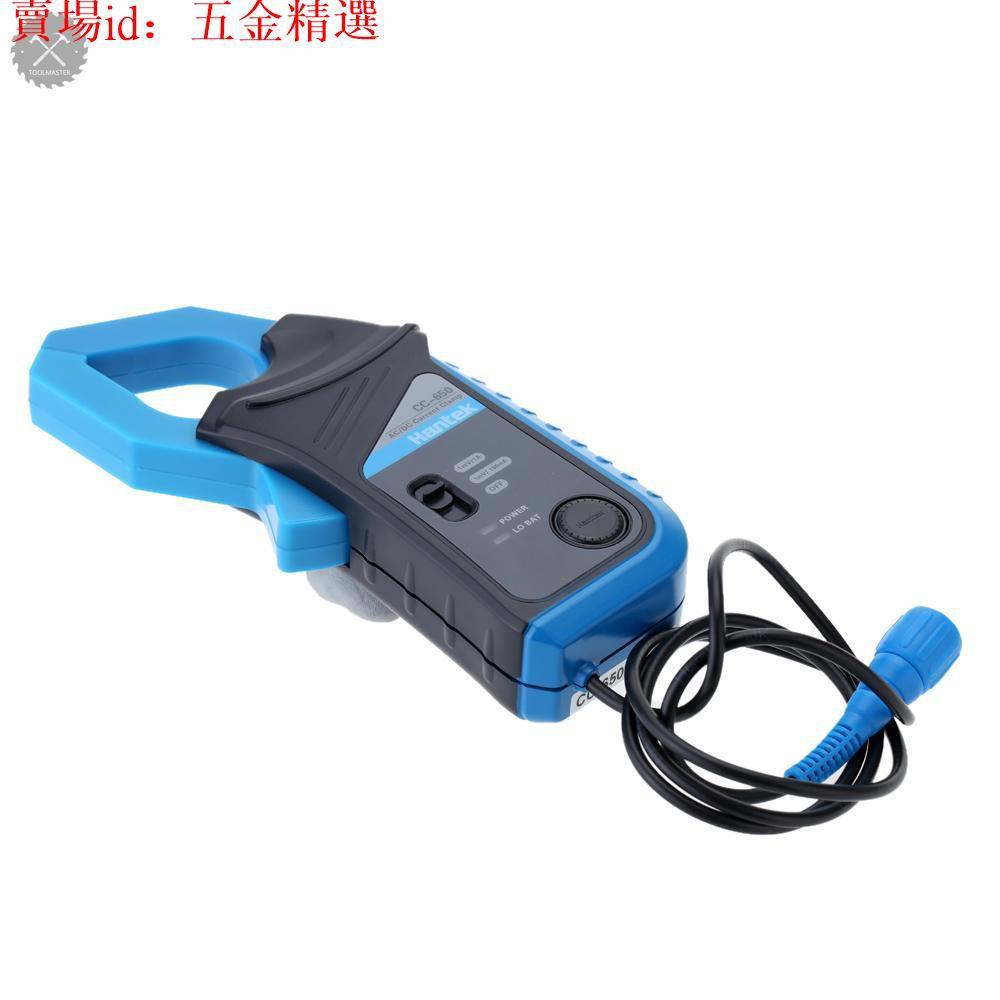 【優選五金】Hantek Cc-650 Ac / Dc 電流夾表 400hz 帶寬 20ma 至 650a Dc,