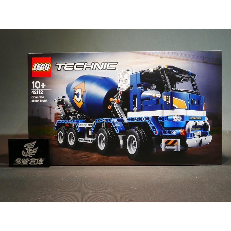 參號倉庫 現貨  LEGO 42112 Technic 科技 水泥攪拌車 Concrete Mixer  truck