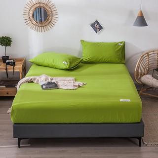 定做床笠噴氣純棉床包榻榻米炕床加寬加厚床墊套1.8 2.3 2.4 2.5m現貨4901