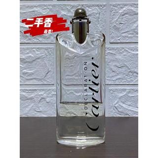 《零碼》Cartier Declaration 卡地亞宣言男性淡香水 原100ml /  剩約30ml 高雄市