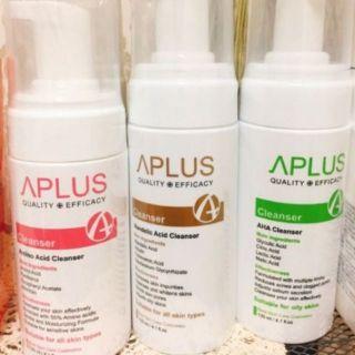 APLUS 綺麗 胺基酸保濕/ 柔膚煥顏 潔面慕斯 120ml 中文標公司正貨 新竹縣