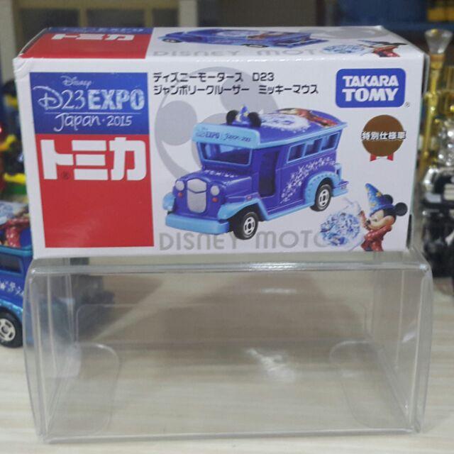 [壞孩子玩具]  輕盒損 附膠盒 TOMICA D23 展場限定 米奇魔法師 魔法米奇 多美