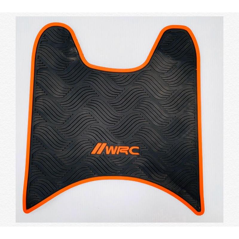 《零件坊》koso WRC 雙色橡膠腳踏墊 FORCE SMAX 勁戰三代四代五代 雷霆s many110 JETS