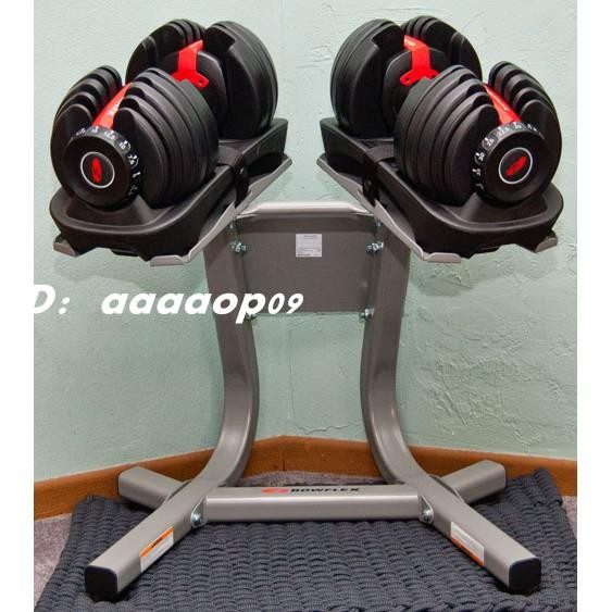 健身器材快速調整90磅智慧啞鈴(17種可調式啞鈴)90LB重力設備40KG啞鈴槓鈴.40公斤舉重量訓練機器