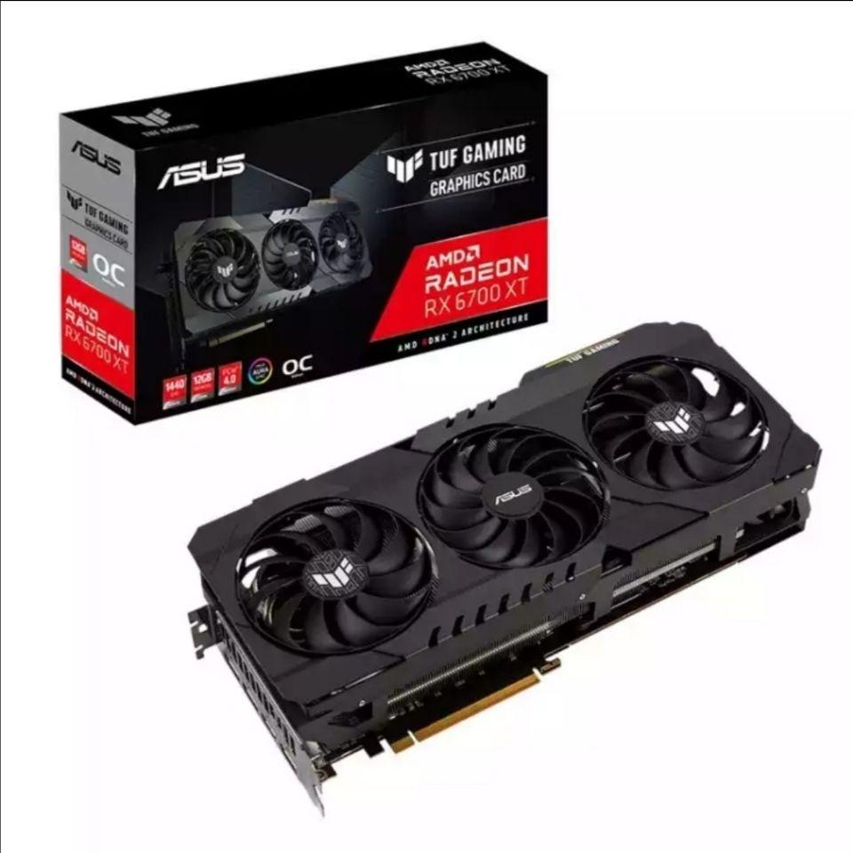 【批發賣場 立減300】華碩TUF RX6700xt/6800/6900/AMD電競吃雞遊戲8卡顯卡公版 az0h