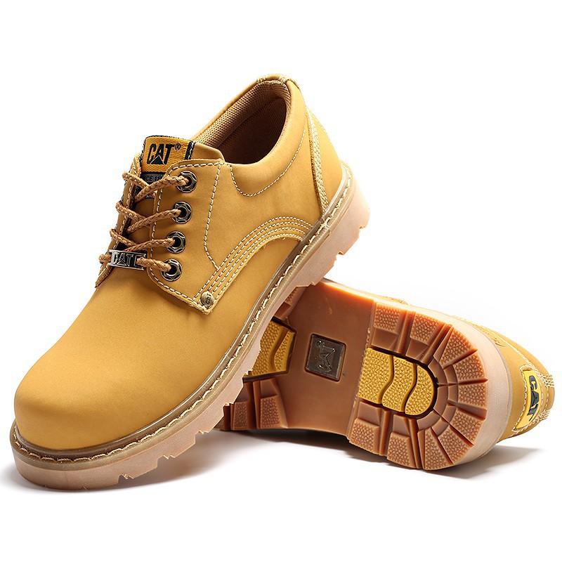 Cat 男鞋 馬丁靴 女鞋 卡特大黃鞋 短靴  戶外休閑鞋 運動鞋 低幫 工裝鞋 情侶鞋
