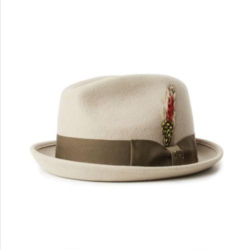 Brixton Gain Fedora Hat 紳士帽《Jimi Skate Shop》