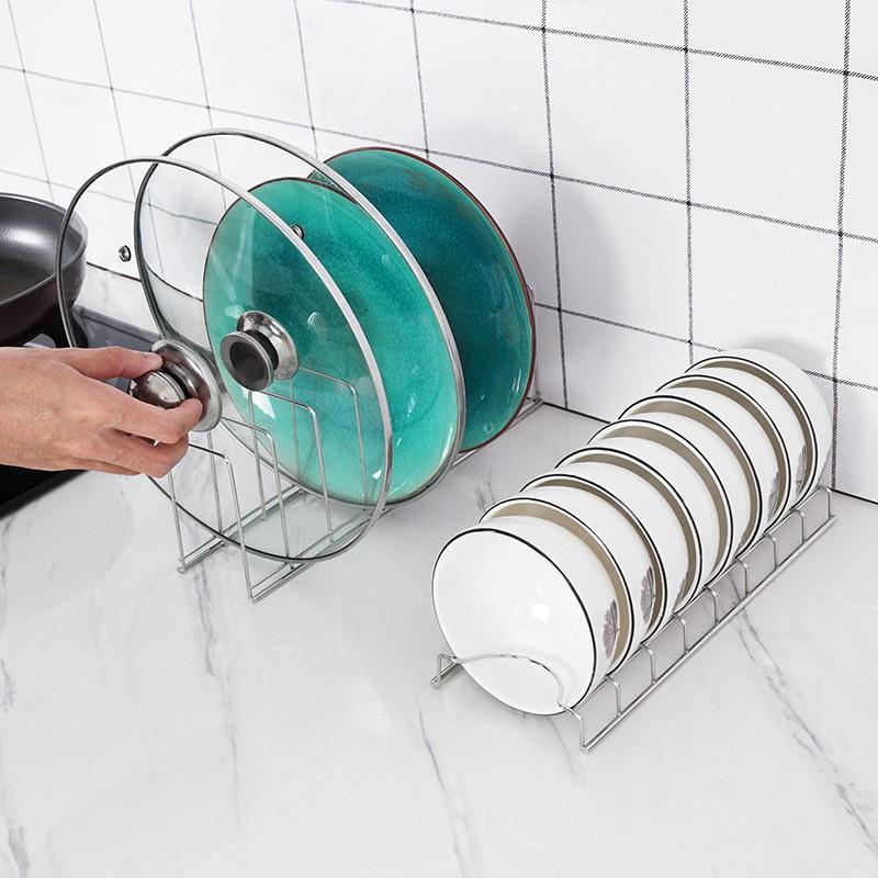 ☃❤️現貨❤️304不銹鋼碗碟架廚房 碗架碟架 放碗架 碗盤架濾水架 碗盤瀝水架 碗盘收納架 晾碗架  碗盤置物架 瀝碗