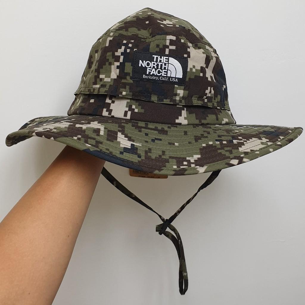 全新 正品 可面交 日本限定 The North Face Horizon Hat 漁夫帽 登山帽 迷彩 NN01708