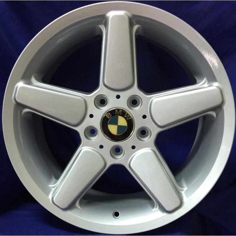 全新 17吋BMW類AC鋁圈 5孔120 適用E36 E46 E90 E92【益和輪胎】