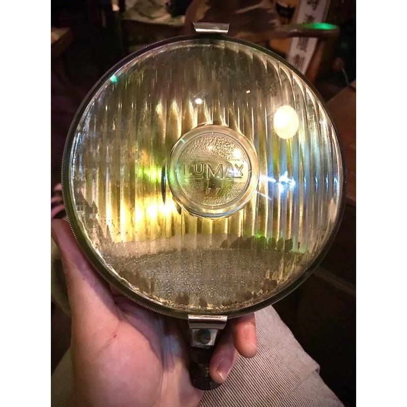 英國 LUMAX 古董車 霧燈 摩斯燈 附夾具mods 老爺車 車燈 摩德 偉士牌 蘭美達 主燈級