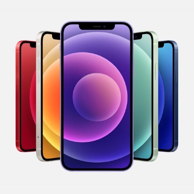 APPLE iPhone 12 128G 5G/A14 白/黑/藍/綠/紅 全新未拆保固一年