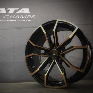 DATA 18吋5*108黑底古銅鋁圈~MONDEO V40 V60 FOCUS KUGA 起標價非商品實際售價 請洽詢