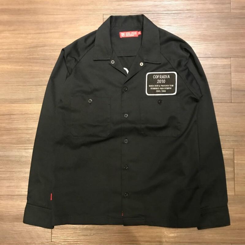 "MANIA x PROVIDER ""COFRADIA"" Work Shirt 工作襯衫 黑色 M號"
