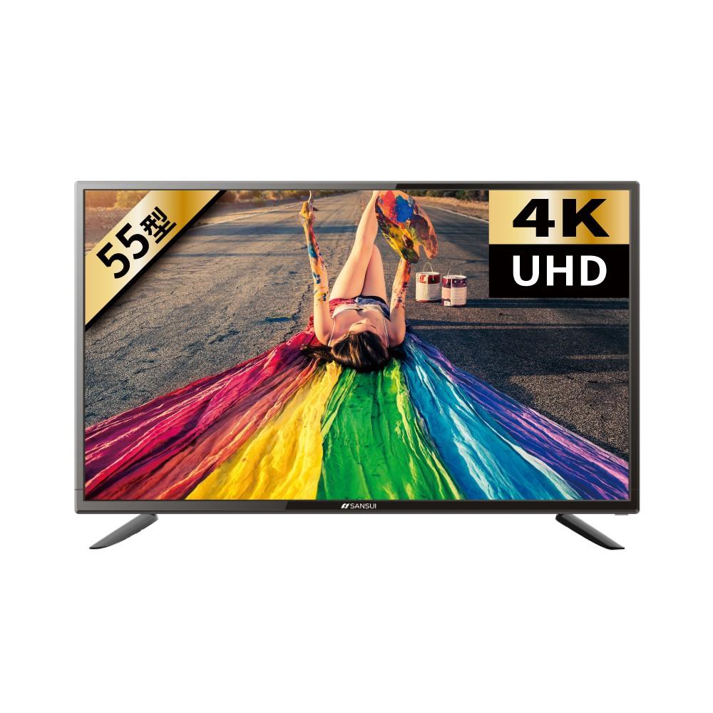 《請出價12720》【SANSUI日本山水】55型4K安卓智慧連網液晶顯示器電視SLHD-556VT