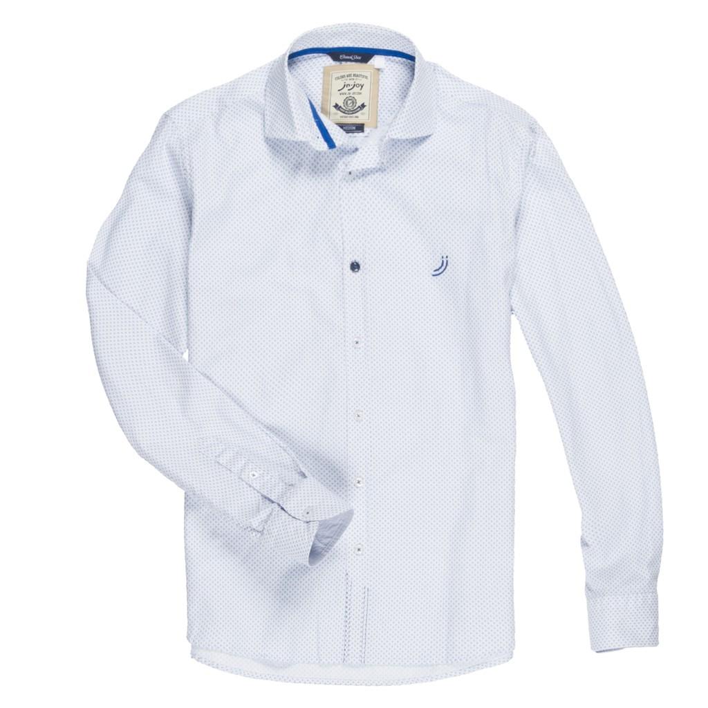 J&Joy 男點點長袖襯衫 J181M070139