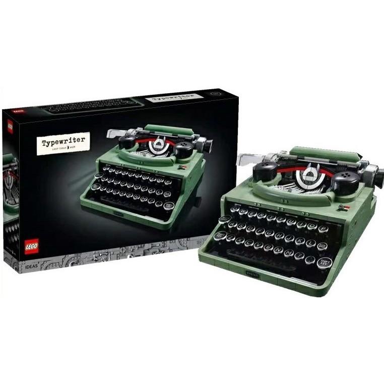 預購可刷卡【Mr.Brick】LEGO 21327 Typewriter 打字機