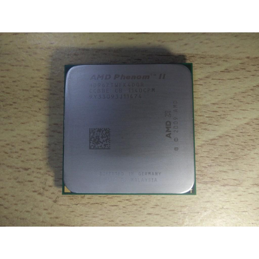 預購商品: AMD 飛龍II Phenom II X4 960T 變身 X6 1605T等同於1090T 穩睿頻3.4G