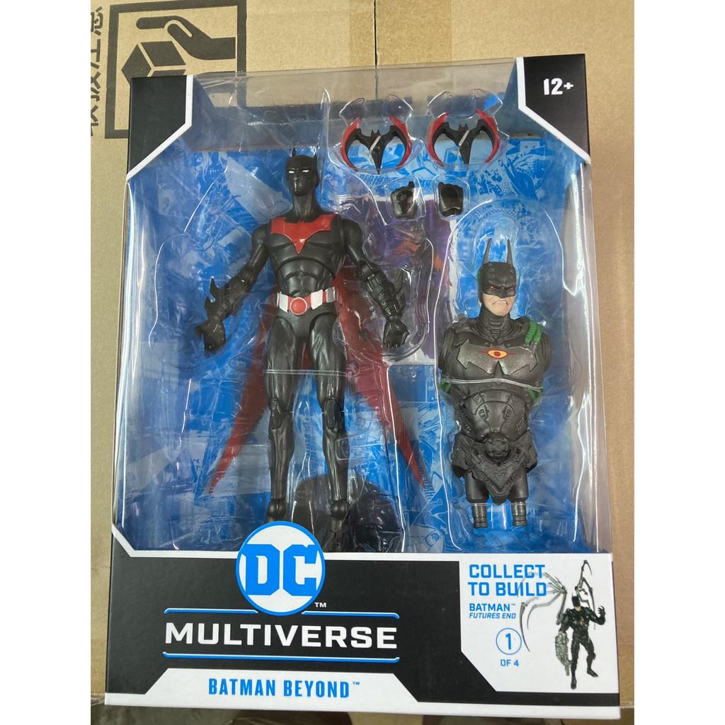 全新現貨 代理版 麥法蘭 DC Multiverse 7吋 DC 未來蝙蝠俠 Batman Beyond build-a