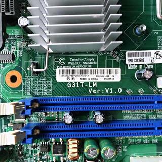 【成你夥伴】 全新原裝聯想G31 主機板  G31T-LM V1.0 775 DDR2揚天T4900V啟天M6900 宜蘭縣