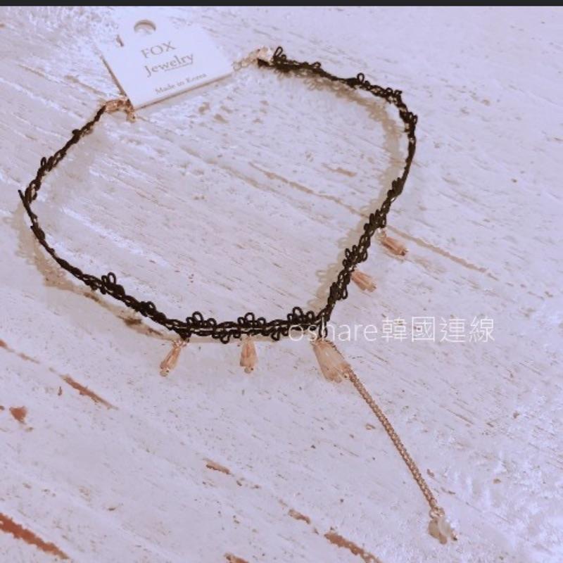 轉賣ohanna韓國連線 下綴飾頸鏈