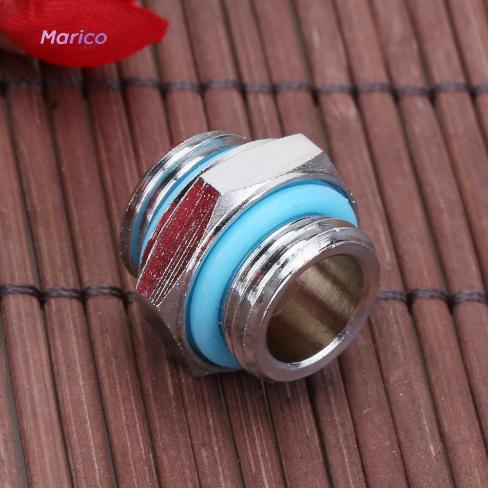 MAG1 / 4雙外螺紋管連接器PC水冷系統1pc