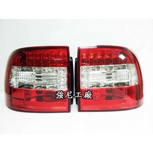 全新保時捷 凱燕 Porsche Cayenne 02 03 04 05 06 07 955 LED尾燈 紅白樣式