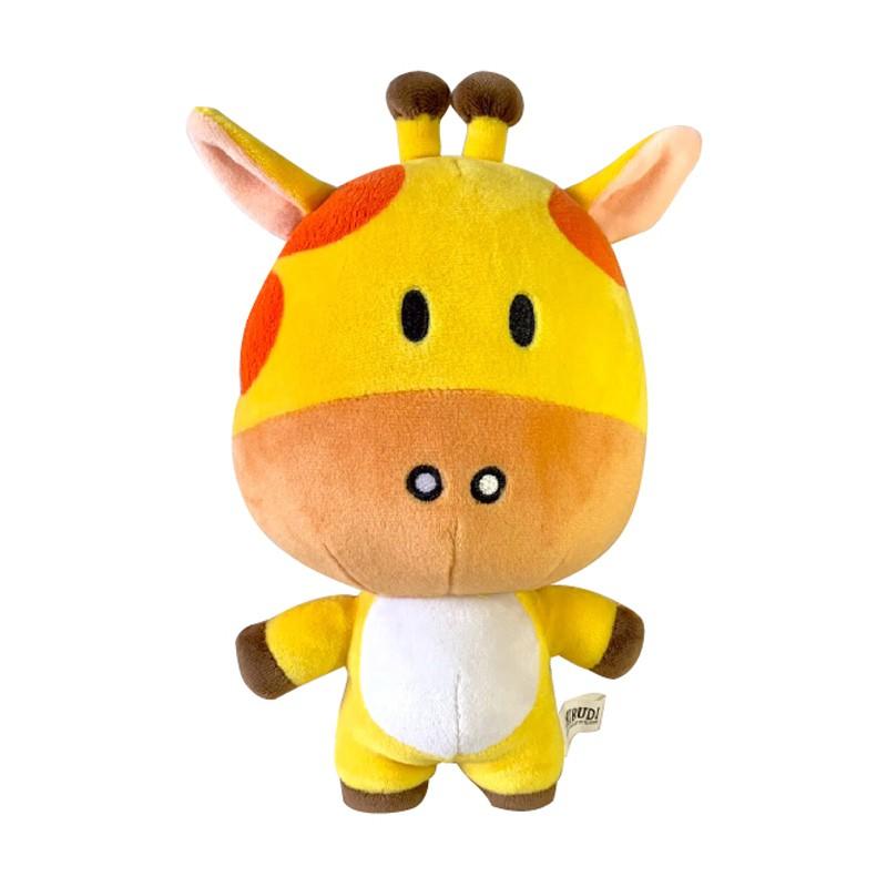 SHIBUDI絨毛娃娃-長頸鹿KIKI(7吋)