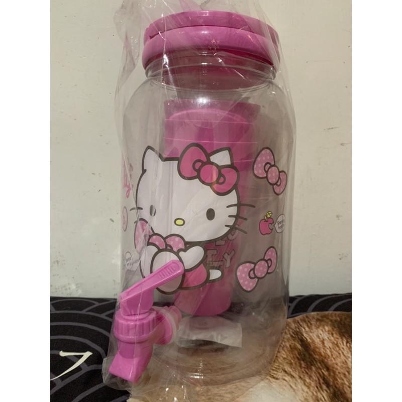 HELLO KITTY 冰桶 (附4個杯子)