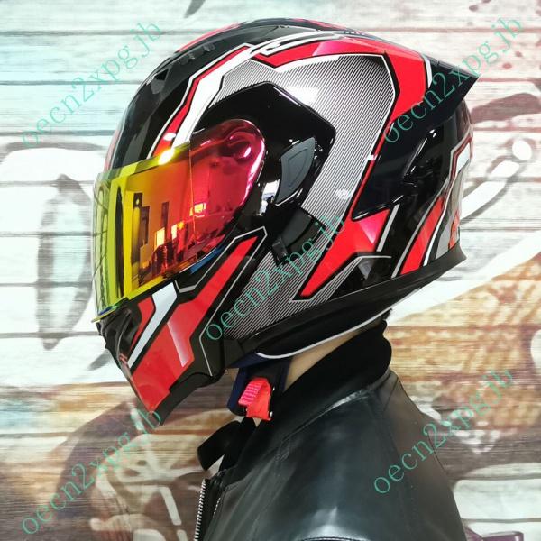 台灣發貨  Orz電動摩托車頭盔男女揭面盔雙鏡尾翼半盔安全帽個性機車灰四季