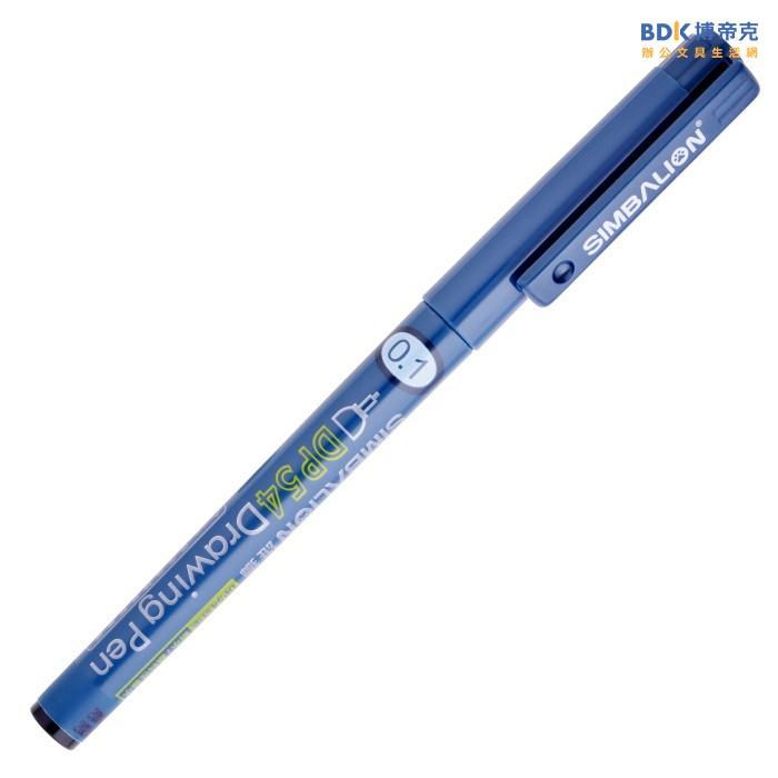 雄獅鉛筆 SIMBALION 雄獅代用針筆 DP54 0.5mm 黑