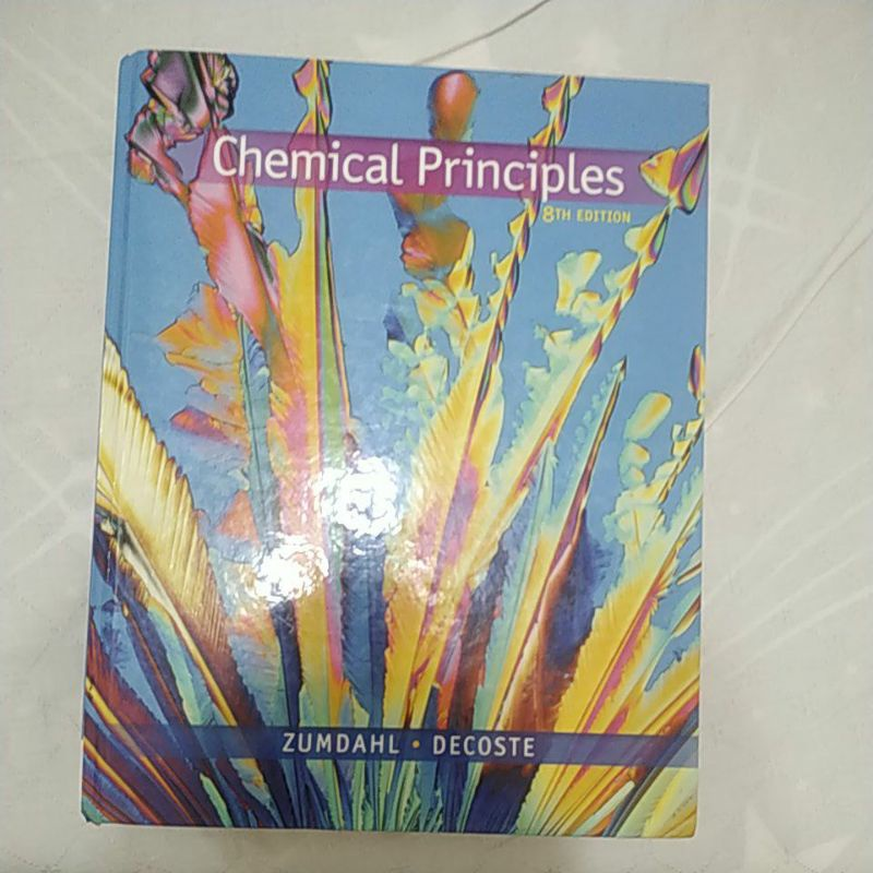chemical principles 8th Edition二手