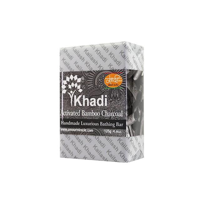 Kailash Khadi 草本手工皂 - 活性竹炭