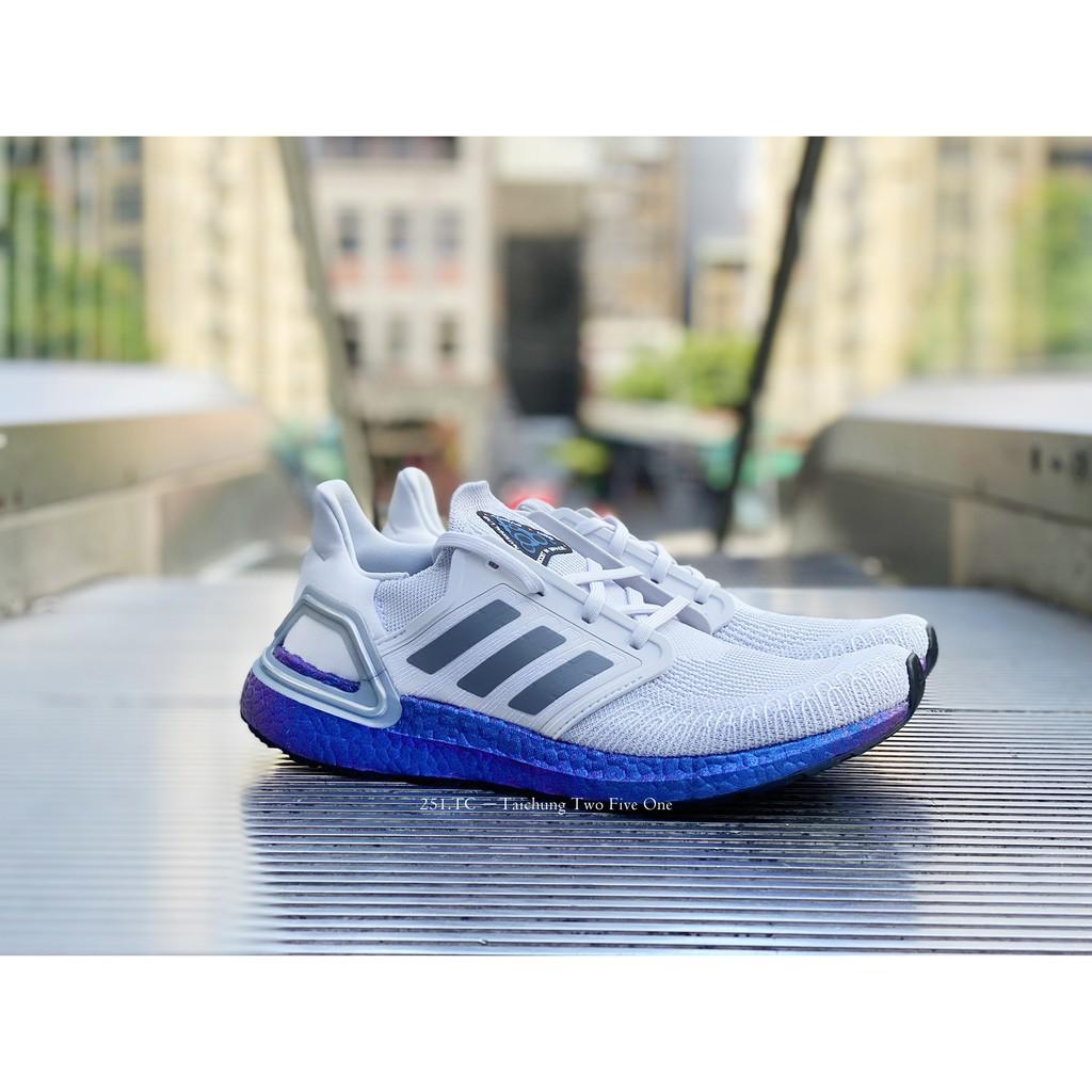 Adidas Ultra BOOST 20 SPACERACE 灰白太空炫彩  UB20 EG0755
