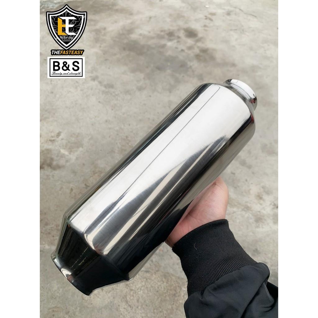 『B&S』Honda City / Fit / HRV 排氣管中段螺旋消音包 中段 消音包